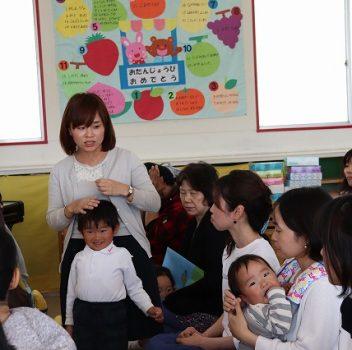 年中組 年少組クラス懇談会・給食参観